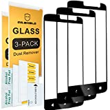 [3-Pack]-Mr.Shield for ZTE Blade Spark [Japan Tempered Glass] [9H Hardness] [Full Cover] Screen Protector with Lifetime Replacement