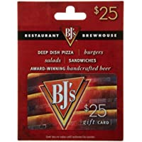 $25 BJ's Restaurant Gift Card