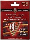 BJ's Restaurant Gift Card $25