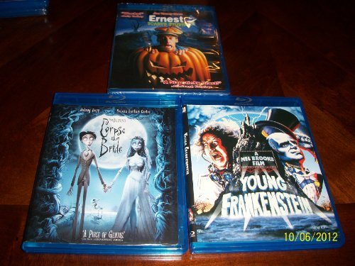 Ernest Scared Stupid, Corpse Bride, Young Frankenstein ()