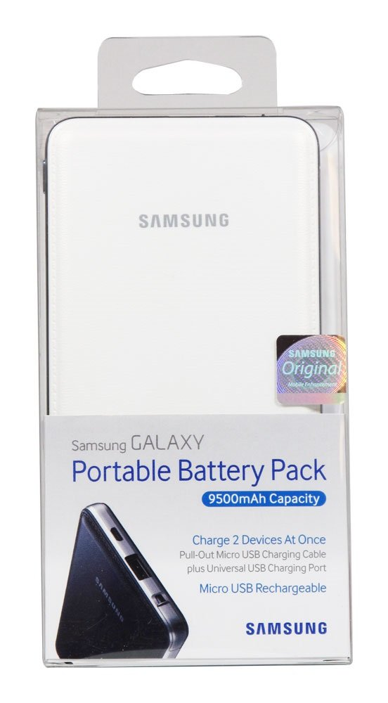 Samsung Samsung 9.500 mAh Battery Pack - Negro - recargable ...