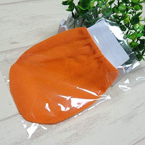 DAHLIAT Bath Brushes, Sponges & Scrubbers | 20pcs/lot Color Orange hammam Scrub Exfoliating Mitt Kessa Scrub Glove Preparation Shower Scrub Gloves for Sunless Self Tannin from DAHLIAT