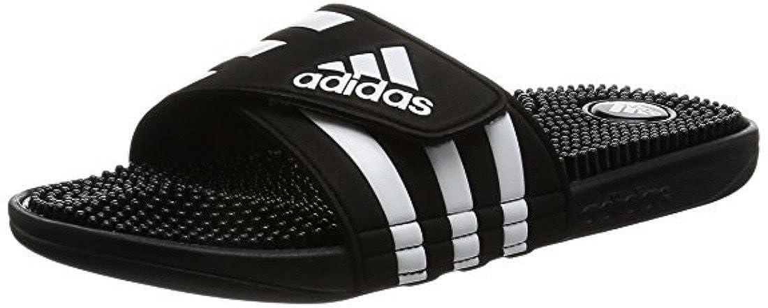 adidas Herren Adissage 2.0 Stripes Hausschuhe, Blanc/Noir S78505