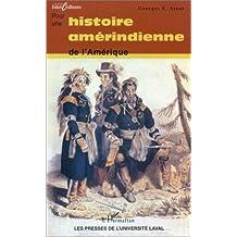 Pour histoire amérindienne Amérique