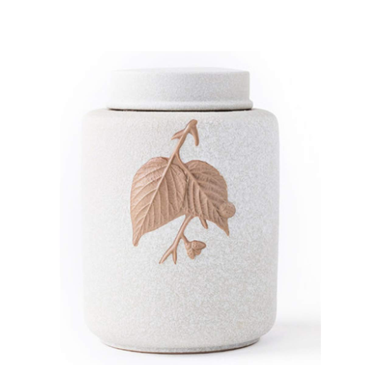 1 XIAN Pet Urns for Dogs Ashes and Cats Too Pet Urn Box Cat Dog Died Crematorium Jar Ceramic Ash Bottle Souvenir Medium Eucalyptus Memorial Ashes (Style   2)