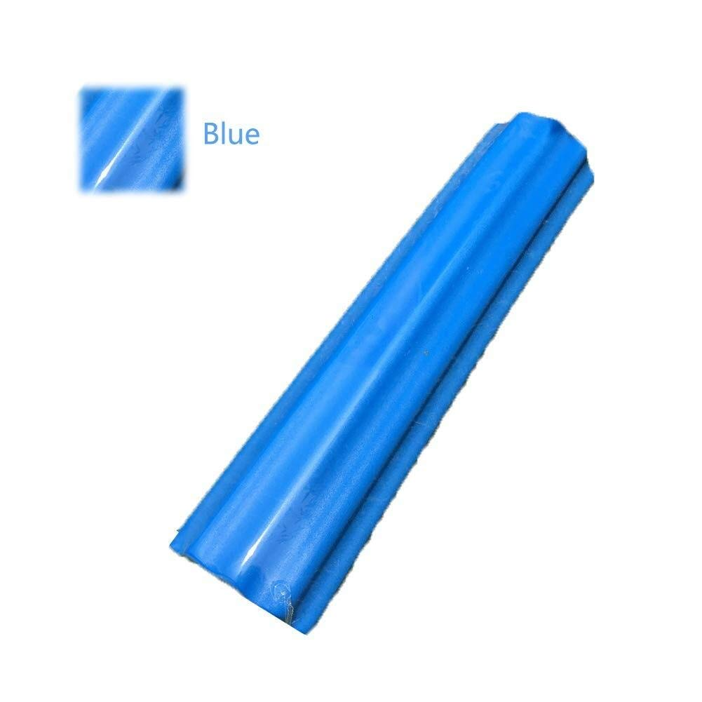 Yoga Foam Roller - Massage Roller Non-Slip, EVA Massage Tool, for Deep Tissue Muscle Massage, Muscle Roller for Fitness Pain Relief, for Home Gym Pilates Yoga (Color : Blue, Size : 1560cm)