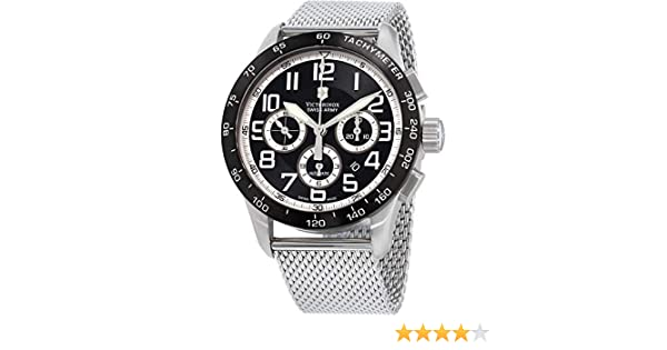 Victorinox AirBoss Mach 6 Reloj de Hombre automático 45mm 241447.1: Amazon.es: Relojes