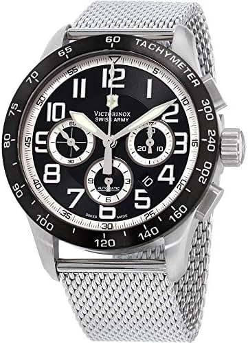 Victorinox AirBoss Mach 6 Automatic Movement Black Dial Men's Watch 241447.1