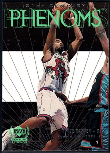Carter Vince Basketball (Basketball NBA 1999-00 Upper Deck Century Legends #52 Vince Carter NM-MT Raptors)