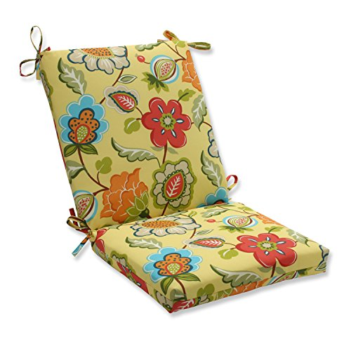 Pillow Perfect Outdoor/Indoor Timmo Sunshine Squared Corners Chair Cushion Review