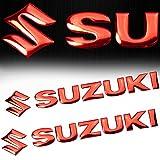 suzuki samurai emblem - (Pack of 2) 7