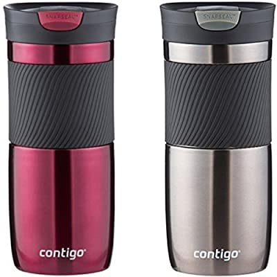 Contigo SnapSeal Vacuum-Insulated Stainless Steel Travel Mug