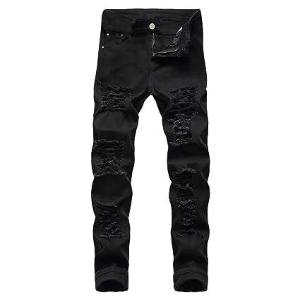 da Denim uomo Jeans Da Pantaloni Uomo elasticizzato Regular Jeans 6dAnq