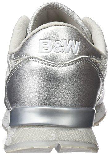 Plateado para Silver Zapatillas Break amp;Walk Mujer Hv215431 AqznX