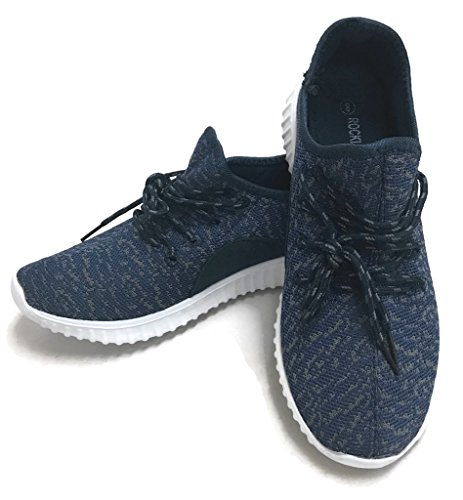 Fashion Athletic Womens Collection The Sneakers Breathable Mesh Jill Shoes Navy Casual tCqYRfR6