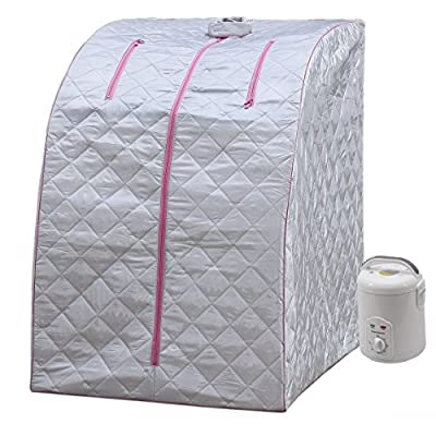 Durherm Portable Personal Folding Therapeutic SPA Home Steam Sauna Weight Loss Slimming Detox from Durherm