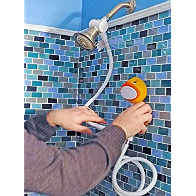 ConservCo Fun & Adorable Bath & Shower Wand for Kids – Froggie the Frog: Home Improvement
