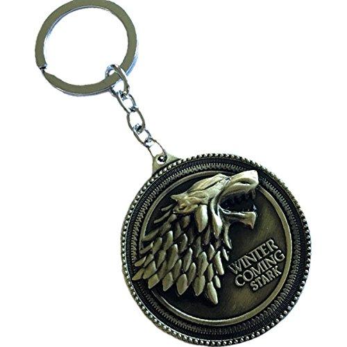 Porte-clés Game of Thrones- Maison des Stark