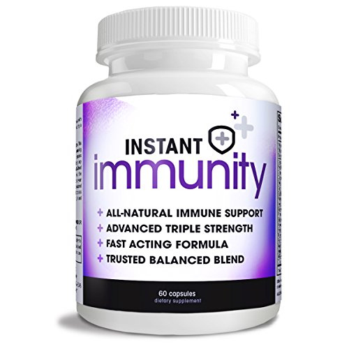 Instant Immunity, Immune Support Formula, Maximum Strength, 60 Capsules -
