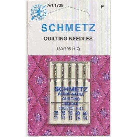 Schmetz Machine Quilting Needles 75/ 90 Pack Of 5