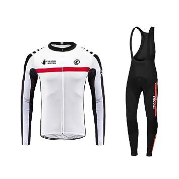 daf6c7bbf134 Uglyfrog 2019 JKTSCM02 [Un Set] Moda Maglia Ciclismo Jerseys per Uomo:  Lunga Manica