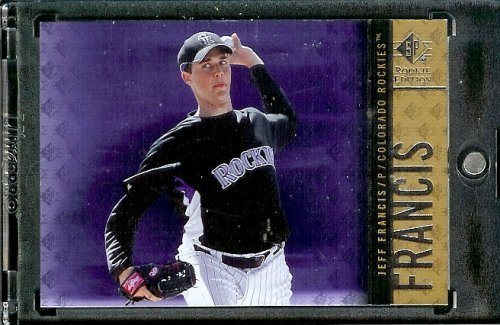 2007 Upper Deck SP Rookie Edition # 15 Jeff Francis - Rockies - MLB Trading Card
