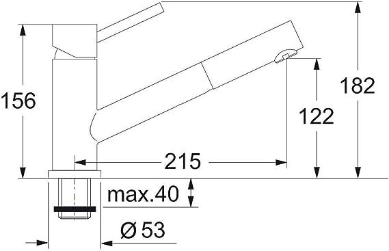 RAL 9016 DORMA 83000111 Flachgest/änge f/ür DORMA T/ürschlie/ßer TS 83 und TS 73V in wei/ß