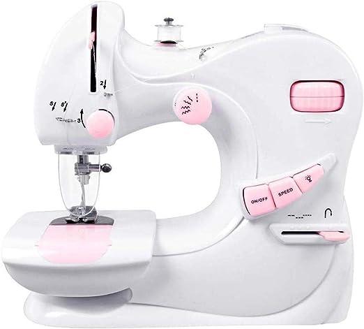 Máquina de coser portátil, máquina de coser eléctrica, de dos ...