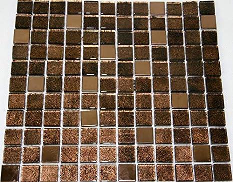 Piastrelle mosaico tessere di mosaico in vetro a specchio bagno