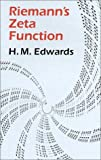Riemann's Zeta Function (Dover Books on Mathematics) (Pure and Applied Mathematics, Band 58)