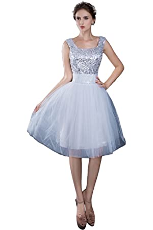 Avril Dress Elegant Sleeveless Homecoming Lace up Wedidng Party Short Dress-8-White