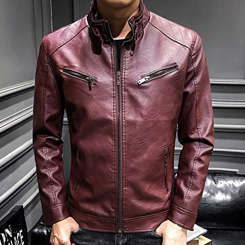 Amazon.com: Fitfulvan Clearance,Mens Coat Motorcycle Jacket Leisure Fashion Jacket Autumn Winter Coat: Clothing