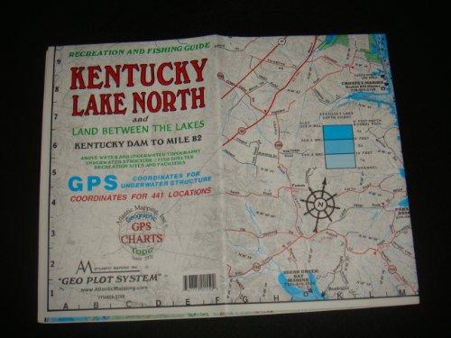 Kentucky Lake North Enlarged Version Geographic Map