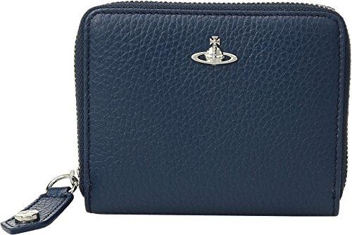 Vivienne Westwood Men's Milano Small Zip Wallet Blue One Size