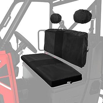 Remarkable Kemimoto Utv Bench Seat Cover For Polaris Ranger 800 900 Xp Waterproof Material Black Forskolin Free Trial Chair Design Images Forskolin Free Trialorg