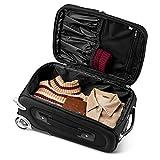 Denco NCAA Missouri Tigers 21-inch Carry-On Luggage
