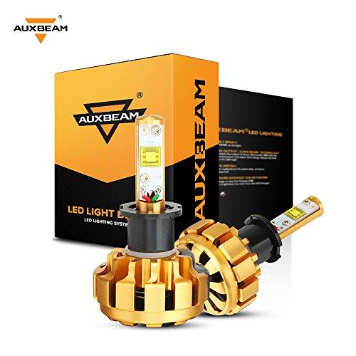 Auxbeam Headlight Bulbs Conversion 6000lm