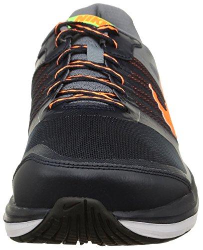 Nike Dual Fusion X - Zapatillas de running unisex Negro / Gris / Naranja