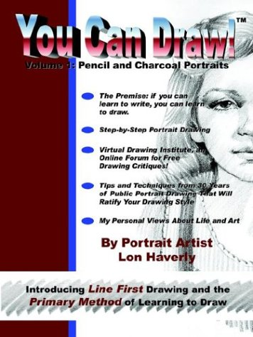 (You Can Draw!: Volume 1: Pencil and Charcoal Portraits)