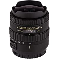 Tokina ATXAF107DXC 10-17mm f/3.5-4.5 AF DX Fisheye Lens for Canon, Black