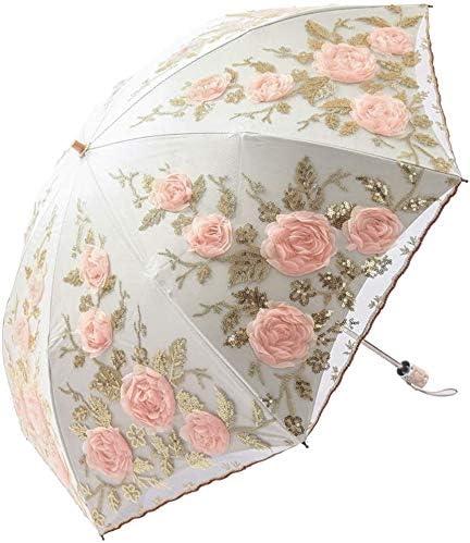Lace Sunshade Handmade Wedding Umbrellas Retro Lace Umbrella Parasol For Sun For Wedding Photography Wedding Decor,Beige