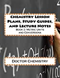 Chemistry Lesson Plans, Study Guides, and Lecture Notes