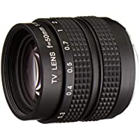 Fotasy L5014 50MM F1.4 TV Lens for Sony NEX/Panasonic/Olympus MFT M4/3 and Fuji FX Cameras - Fixed