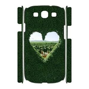 HXYHTY Love Heart Customized Hard 3D Case For Samsung Galaxy S3 I9300