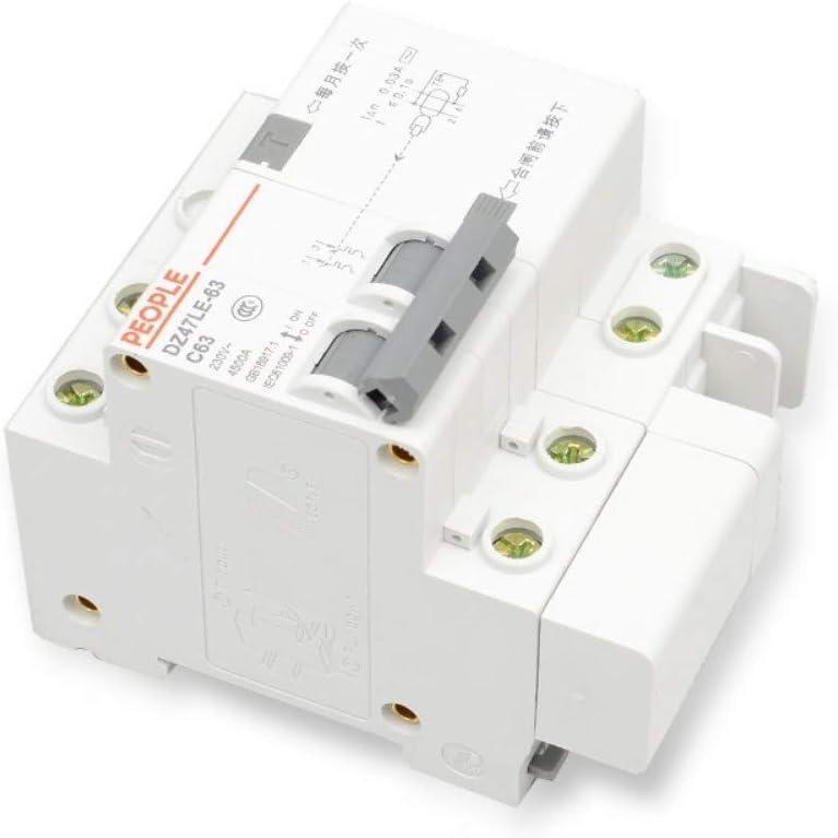 XIONGXI Interrupteur dair de disjoncteur Domestique Miniature Vide 20A