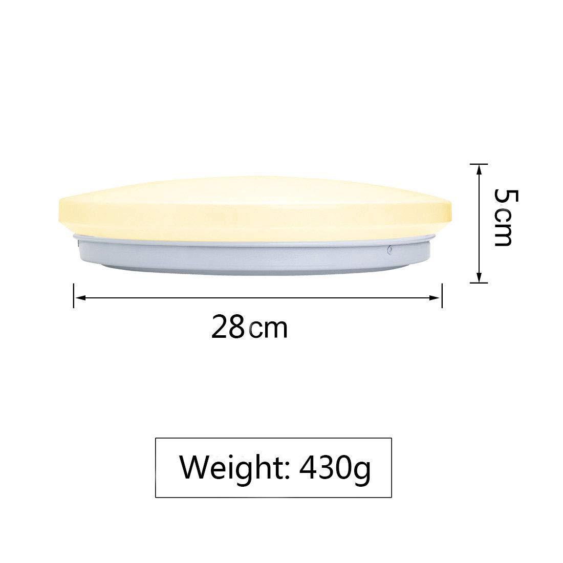 KWODE 18W LED Deckenleuchte Kaltwei/ß 6000K Deckenlampe Deckenbeleuchtung IP44 Rund Badezimmerleuchte Badezimmerlampe Badlampe ideal f/ür Badezimmer Balkon Flur Bad K/üche
