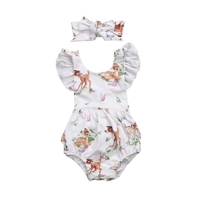 Wang-RX Recién Nacido Niño Bebé Bebés Niñas Ciervos Volantes ...