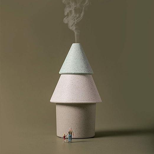 Humidificador pequeño árbol purificador de aire 250 ml Humidificadores ultrasónicos Filtro de aire portátil para ...