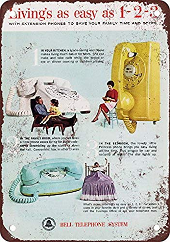 Amazon Weytff 1963 Bell Telephone Extension Phones Pub Home