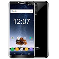 OUKITEL K6 - 6 inch FHD (18:9 ratio) Android 7.1 smartphone, Octa Core 2.0GHz CPU with 6GB+64GB, 6300mAh Battery fast charge
